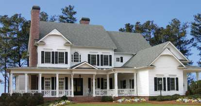 5 Bed, 6 Bath, 5209 Square Foot House Plan - #699-00062