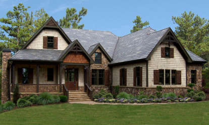 3 Bed, 2 Bath, 2648 Square Foot House Plan - #699-00065