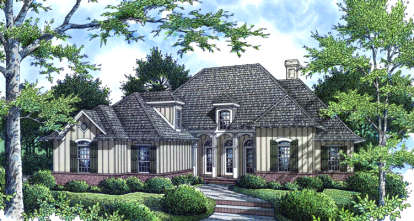 3 Bed, 2 Bath, 2085 Square Foot House Plan - #048-00131