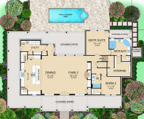 Main for House Plan #5445-00275