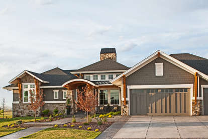 2 Bed, 2 Bath, 2656 Square Foot House Plan #5631-00081