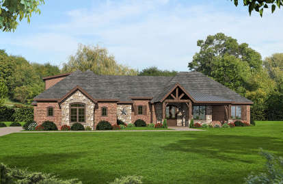 3 Bed, 3 Bath, 2775 Square Foot House Plan #940-00062