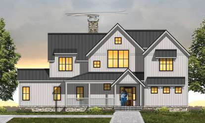 3 Bed, 2 Bath, 2681 Square Foot House Plan - #8504-00116