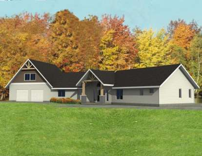 3 Bed, 3 Bath, 2794 Square Foot House Plan - #039-00473