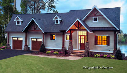 3 Bed, 3 Bath, 2532 Square Foot House Plan - #699-00074