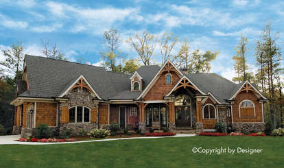4 Bed, 4 Bath, 3956 Square Foot House Plan - #699-00076