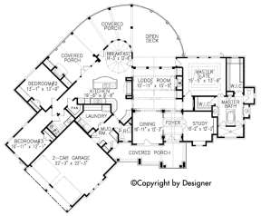 Floorplan 1 for House Plan #699-00083