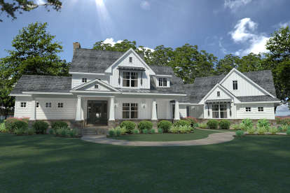 3 Bed, 3 Bath, 2396 Square Foot House Plan - #9401-00092