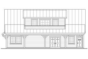 House Plan #035-00806 Elevation Photo