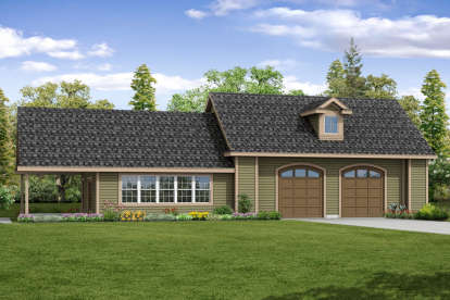 0 Bed, 1 Bath, 2665 Square Foot House Plan - #035-00807