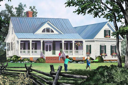 3 Bed, 2 Bath, 2010 Square Foot House Plan #7922-00233