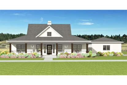 3 Bed, 2 Bath, 1667 Square Foot House Plan #3125-00015