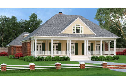 3 Bed, 2 Bath, 2248 Square Foot House Plan #048-00256