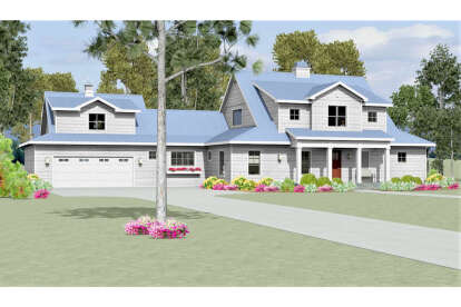3 Bed, 3 Bath, 2710 Square Foot House Plan #3125-00017