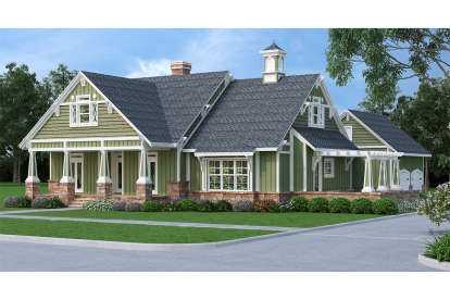 5 Bed, 4 Bath, 3036 Square Foot House Plan - #048-00257