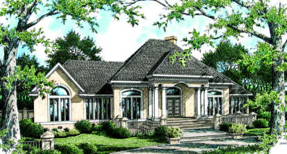 4 Bed, 3 Bath, 2168 Square Foot House Plan - #048-00137