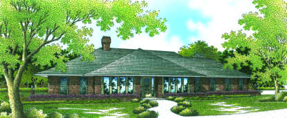 4 Bed, 2 Bath, 2240 Square Foot House Plan - #048-00138