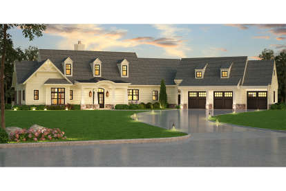 3 Bed, 2 Bath, 2830 Square Foot House Plan - #4195-00011