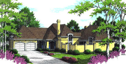 3 Bed, 2 Bath, 2259 Square Foot House Plan - #048-00142