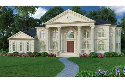 5 Bed, 4 Bath, 5699 Square Foot House Plan #4195-00016