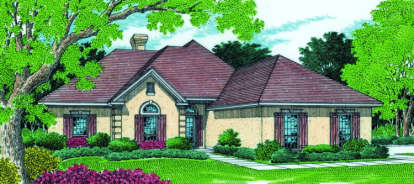 3 Bed, 3 Bath, 2200 Square Foot House Plan - #048-00143