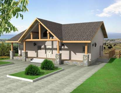 3 Bed, 2 Bath, 4006 Square Foot House Plan - #039-00480