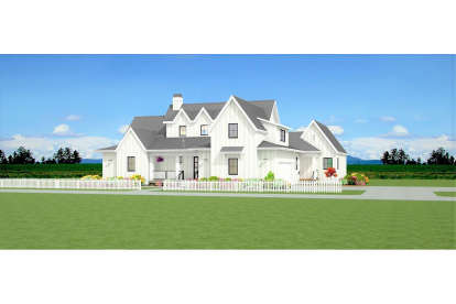 4 Bed, 2 Bath, 2604 Square Foot House Plan - #3125-00018