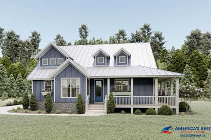 3 Bed, 2 Bath, 2095 Square Foot House Plan - #940-00072