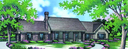 3 Bed, 2 Bath, 2358 Square Foot House Plan - #048-00146