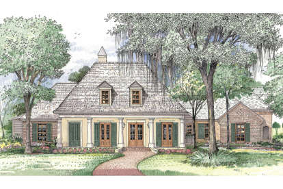 4 Bed, 3 Bath, 3998 Square Foot House Plan - #7516-00017