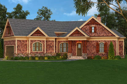 3 Bed, 2 Bath, 2344 Square Foot House Plan #4195-00019