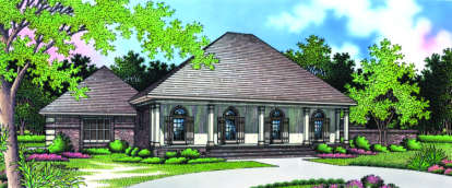 3 Bed, 2 Bath, 2394 Square Foot House Plan - #048-00148