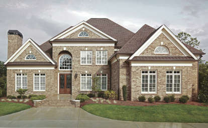 4 Bed, 3 Bath, 3143 Square Foot House Plan - #4195-00023