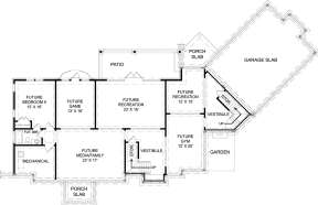 Basement  for House Plan #4195-00028