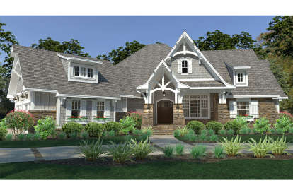 3 Bed, 2 Bath, 2662 Square Foot House Plan #9401-00093