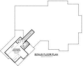 Bonus Room for House Plan #041-00170
