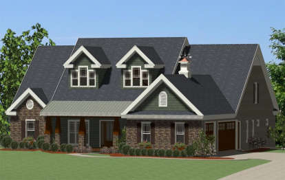 4 Bed, 3 Bath, 2720 Square Foot House Plan - #6849-00042