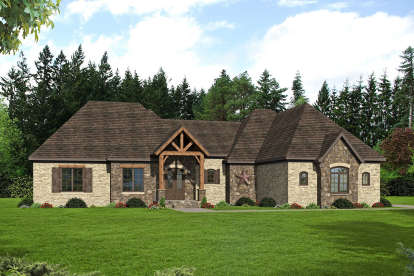 3 Bed, 3 Bath, 3452 Square Foot House Plan - #940-00074