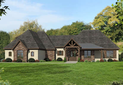 3 Bed, 3 Bath, 3565 Square Foot House Plan - #940-00076