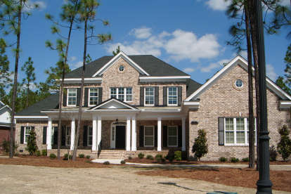 4 Bed, 3 Bath, 3762 Square Foot House Plan #8059-00003