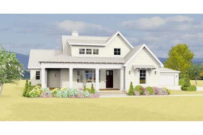3 Bed, 2 Bath, 1619 Square Foot House Plan #3125-00020