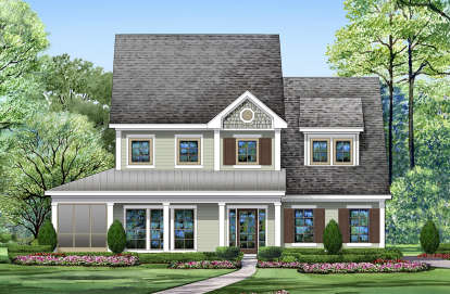 3 Bed, 2 Bath, 2762 Square Foot House Plan - #5445-00290