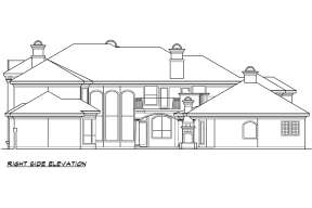 Luxury House Plan #5445-00295 Additional Photo