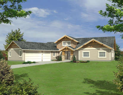 4 Bed, 3 Bath, 2860 Square Foot House Plan - #039-00490