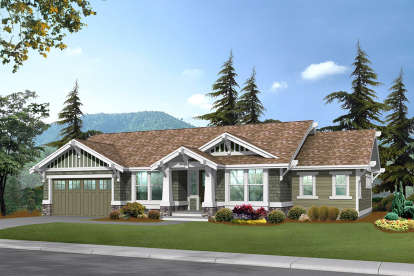 2 Bed, 2 Bath, 3559 Square Foot House Plan - #341-00304