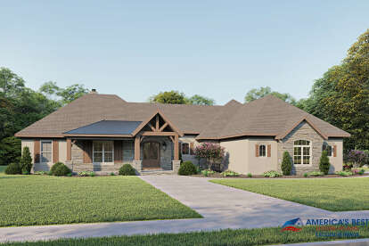 3 Bed, 2 Bath, 2816 Square Foot House Plan #940-00084