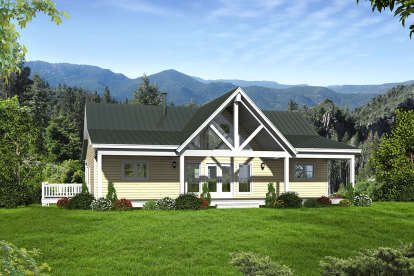 2 Bed, 2 Bath, 2000 Square Foot House Plan - #940-00091