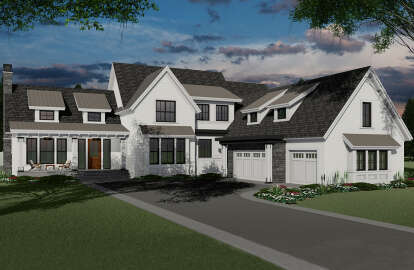 4 Bed, 3 Bath, 3052 Square Foot House Plan #098-00297