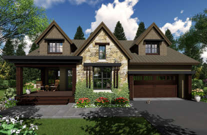 3 Bed, 3 Bath, 2500 Square Foot House Plan - #098-00300