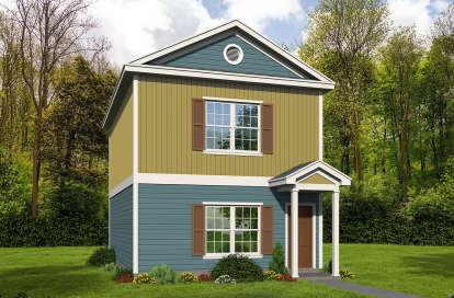 2 Bed, 2 Bath, 1140 Square Foot House Plan - #940-00092